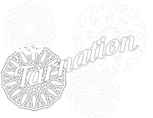 FREE Adult Coloring Book page DiaryJournalBook.com