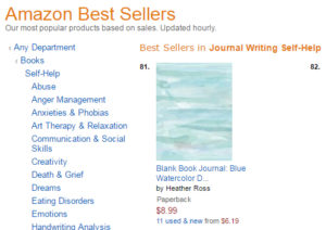 Amazon Best Seller Watercolor Journal by DiaryJournalBook.com