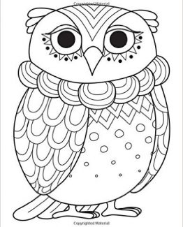Zentangle Emporer Owl Daily Planner - 8.5 x 11, 380 pages with sections for date, time, notes, lists and doodles! DiaryJournalBook.com