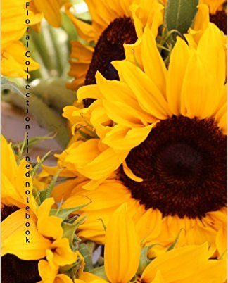 Sunflower Journal by Noelle Eckman - www.DiaryJournalBook.com